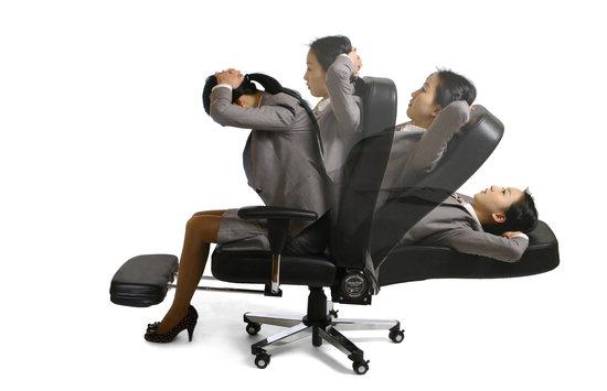 건강기구를 겸할 수 있는 이노체어 의자.