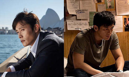▲ 영화 '싱글라이더'의 이병헌(왼쪽)과 '루시드 드림'의 고수.