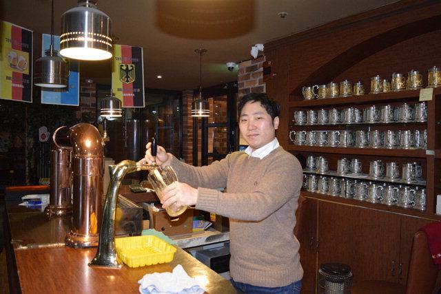 ▲ 김 대표는 수제 맥주 시장에서 유명세를 떨치며 매니아층의 입맛을 사로잡고 있다.