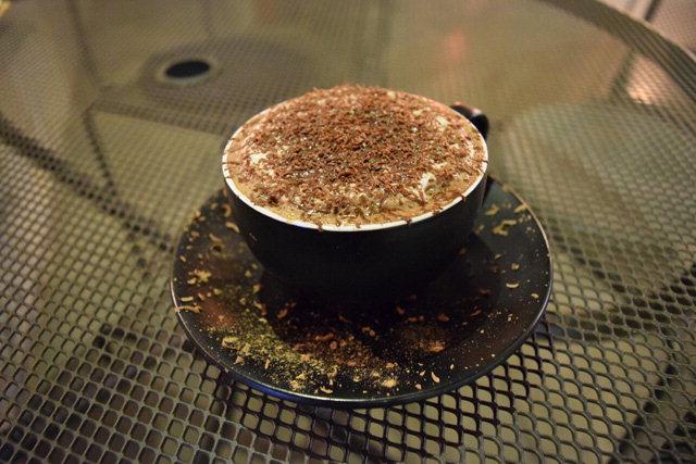 ▲ 겨울 한정 음료 '버드나무 핫초콜릿'