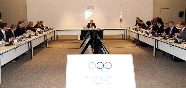 ▲ 16일 평창 알펜시아 컨벤션센터에서 토마스 바흐 IOC 위원장이 참석한 가운데 IOC 집행위원회가 열렸다.