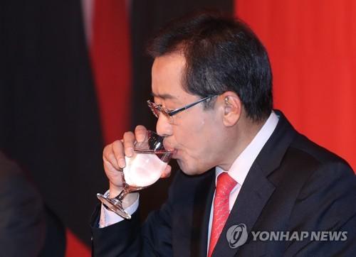 ▲ 자유한국당 홍준표 대선후보