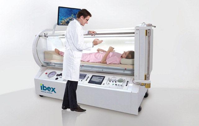▲ 고압산소치료기 IBEX MONO