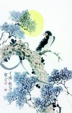 ▲ 문용기 작 '소나무'