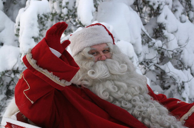 ▲ 12일 화천을 방문하는 핀란드 로바니에미시 산타마을의 산타클로스.  제공=핀란드 로바니에미시