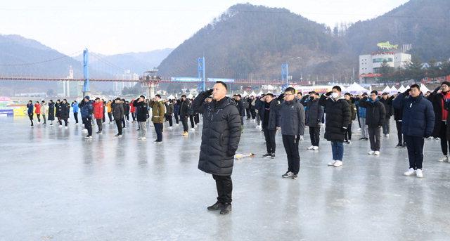 ▲ 7사단 부사관의 날 행사가 15일 화천산천어축제장에서 열렸다.