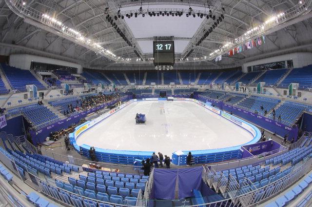 ▲ 피겨스케이팅과 쇼트트랙 경기가 열리는 강릉올림픽파크 내 아이스 아레나.