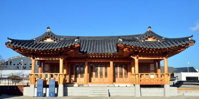 ▲ ▼ 평창올림픽플라자 전통문화관