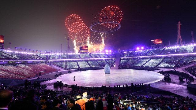 ▲ 지난 9일 개막한 평창올림픽이 지구촌 평화 축제로 진행되고 있다.평창올림픽은 오는 25일 폐막한다.사진은 평창올림픽 개막식 한 장면.