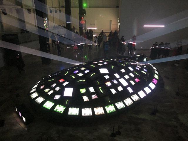 ▲ 평창올림픽플라자 '라이트 평창 빛' 전