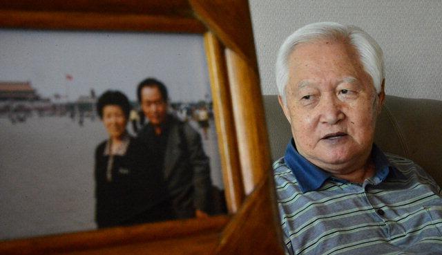 ▲ 대한적십자사가 제작한 이산가족 영상편지에서 홍태표(82·춘천)씨가 보고싶은 북녘의 가족들을 떠올리며 이야기를 하고 있다.