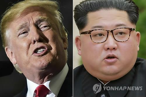▲ 도널드 트럼프 미국 대통령(왼쪽)과 김정은 북한 국무위원장