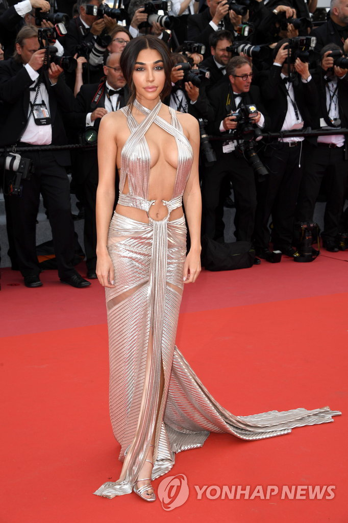 "71st Cannes Film Festival - Opening ceremony and screening of the film ""Everybody Knows"" (Todos lo saben) in competition - Red Carpet Arrivals - Cannes, France, May 8, 2018 - Chantel Jeffries arrives. REUTERS/Eric Gaillard"