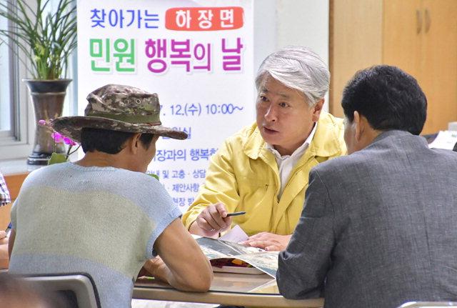 ▲ 6·13지선 삼척시장 선거에서 당선한 더불어민주당 김양호 당선자.