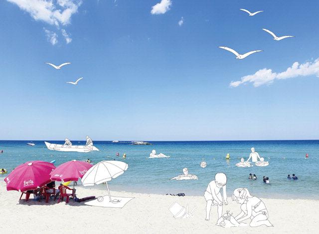 ▲ 국가대표 여름 관광지 경포해변이 6일 개장한다.