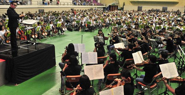 ▲ '춘천인 음악회'가 오는 14일 오후 5시 춘천 호반체육관에서 열린다.사진은 지난 행사 모습.