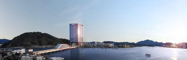 ▲ 13일 모델하우스를 오픈하는 소양강 리버파크뷰 투시도.