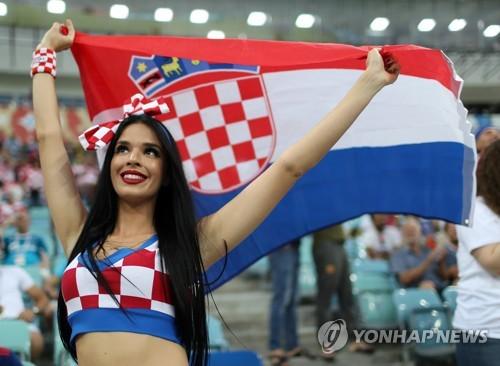 ▲ 크로아티아 축구팬