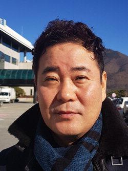 ▲ 조영백 동강시스타살리기 비상대책추진위원회 상임위원장