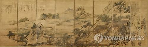 ▲ 보물 제2000호로 지정된 '삼공불환도'[문화재청 제공]