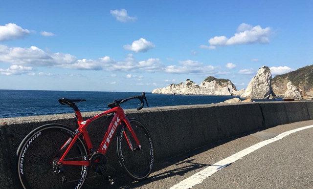 ▲ 와카야마현은 해안선 자전거 여행객 유치를 통한 관광경제 활성화 노력도 강화하고 있다.