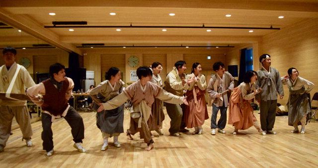▲ 강원도립극단의 첫 뮤지컬 '메밀꽃 필 무렵'이 오는 12일부터 도내 곳곳에서 공연을 펼친다.사진은 연습 모습.