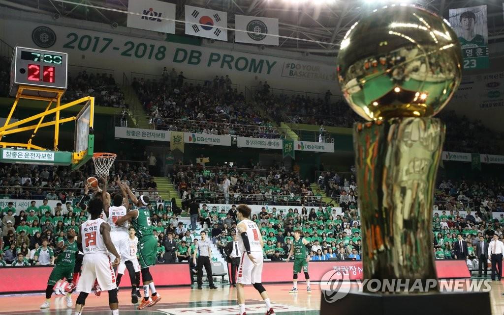 ▲ 2017-2018 프로농구 챔피언결정전 장면