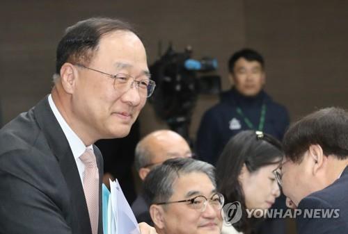 ▲ 홍남기 부총리 겸 기획재정부 장관 후보자