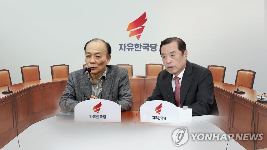 ▲ 김병준-전원책 파열음…정리안되는 '보수통합'(CG)