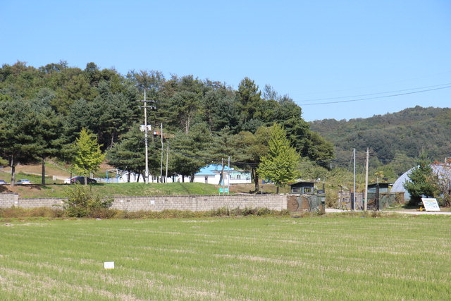 ▲ 철원읍에 남아있는 박용만 장군의 생가터.