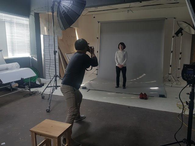 ▲ 강원영상위원회가 '강원배우 프로필 촬영 프로젝트'를 진행하고 있다.