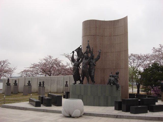 ▲ 강릉3·1 독립만세운동기념탑