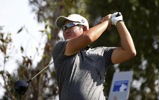 ▲ 안병훈이 PGA투어 웨이스트 매니지먼트 피닉스오픈 1라운드에서 공동6위를 기록했다.