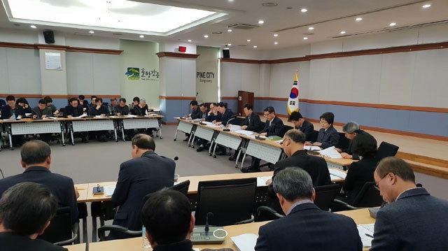 ▲ 강릉시는 11일 '2020년 국비 확보 전략회의'를 개최,35개 신규사업을 포함 58개 사업의 국비 확보에 선제적으로 나서기로 했다.