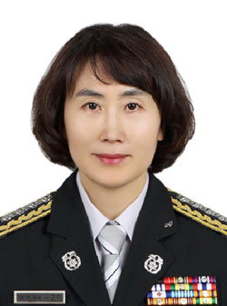 ▲ 김정희 평창소방서장