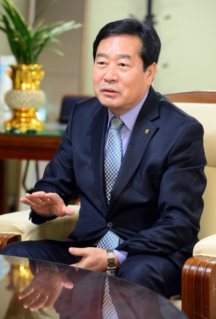 ▲ 함용문  농협중앙회 강원지역본부 본부장
