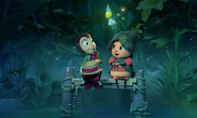 ▲ 영화 숲속왕국의 꿀벌 여왕 스틸컷