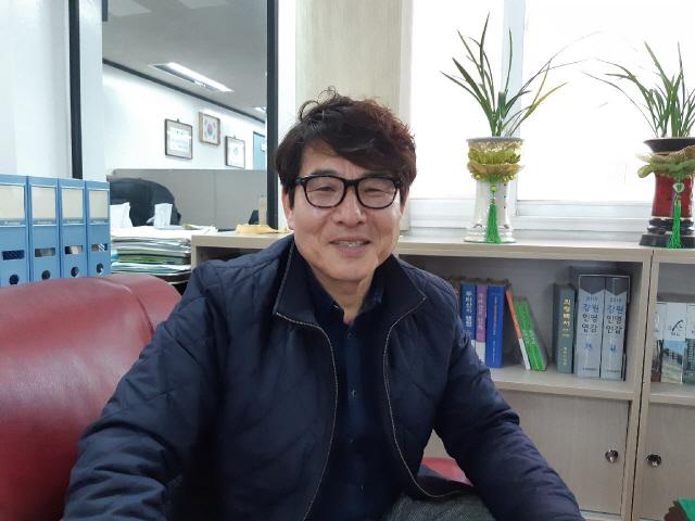 ▲ 이정운 강원도 주민자치회 대표회장