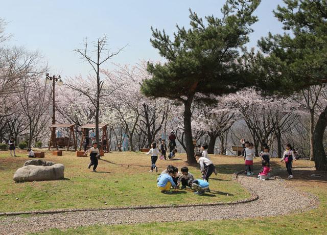 ▲ 삼척 봉황산 공원