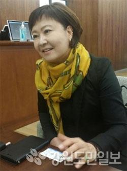 ▲ 손자영 지케이에스 대표
