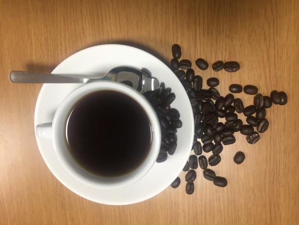 ▲ 커피와 원두.