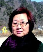▲ 김향 강원여성서예협회 인제지회장