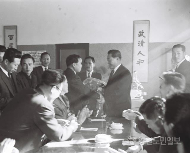▲ 박영록 전지사의 초대민선 지사시절 활동모습