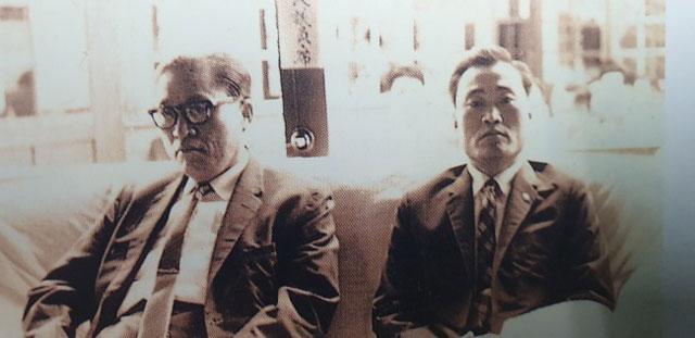 ▲ 박영록 전지사가 6대 국회의원 활동당시 신옥철 전의원과 함께한 사진.