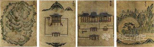 ▲ 홍콩 국제경매장 단종 관련 그림(18세기) 4점 입수