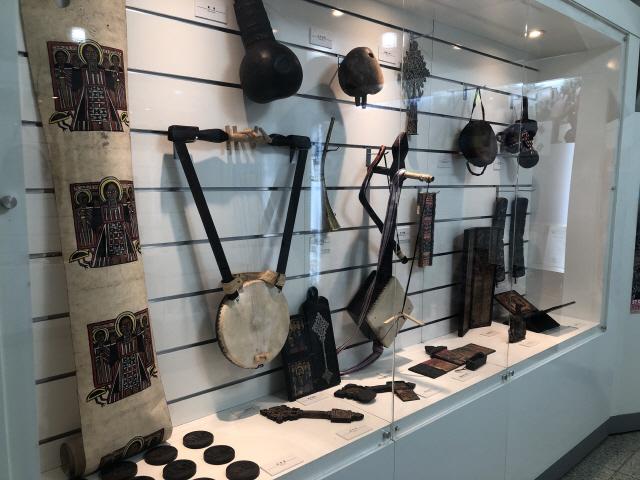 ▲ 에티오피아 악기와 생활용품