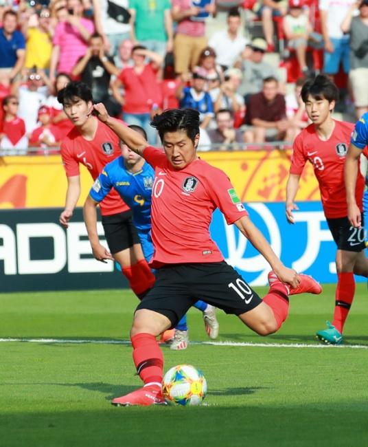 ▲ [U20월드컵] 이강인, 첫 골 성공!
