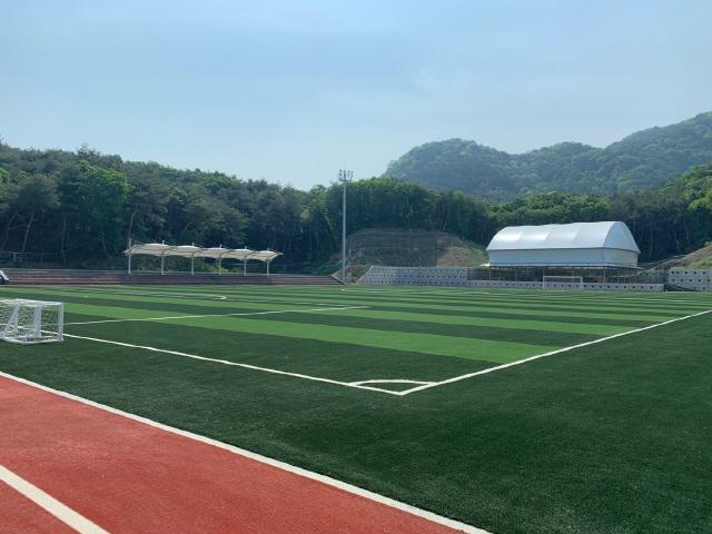 ▲ 춘천에 조성중인 손흥민 체육공원.