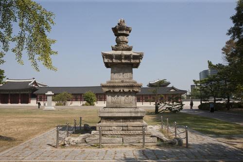 ▲ 2015년 서울 국립고궁박물관에서 촬영한 원주 법천사지 지광국사탑.