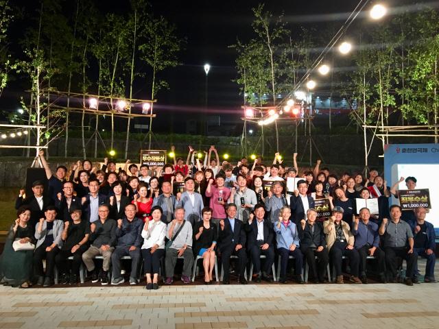 ▲ 2019 춘천연극제 폐막식이 지난 22일 춘천시청 작은공연마당에서 열렸다.